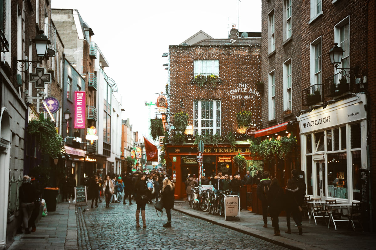 Temple Bar en Dublin