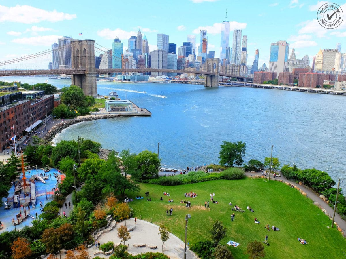 Brooklyn Bridge Park, ideal para visitar en familia