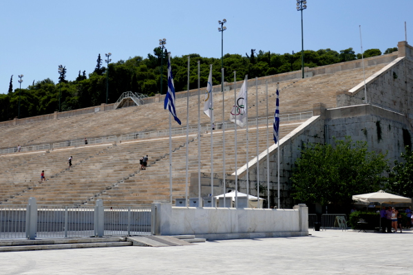 Fotos de Atenas en Grecia, Estadio Panathinaiko