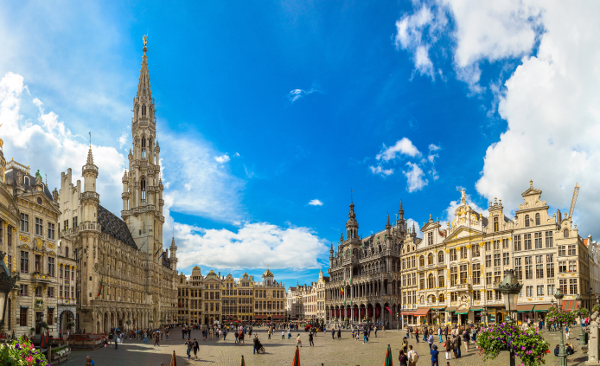 Fotos de Bruselas, Grand Place