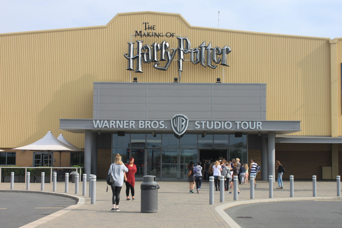Fotos de Londres, Harry Potter estudios Warner