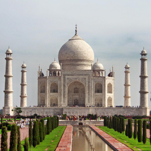 Fotos del Taj Mahal en Agra, India