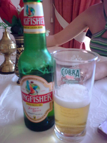 Kingfisher, la cerveza de India
